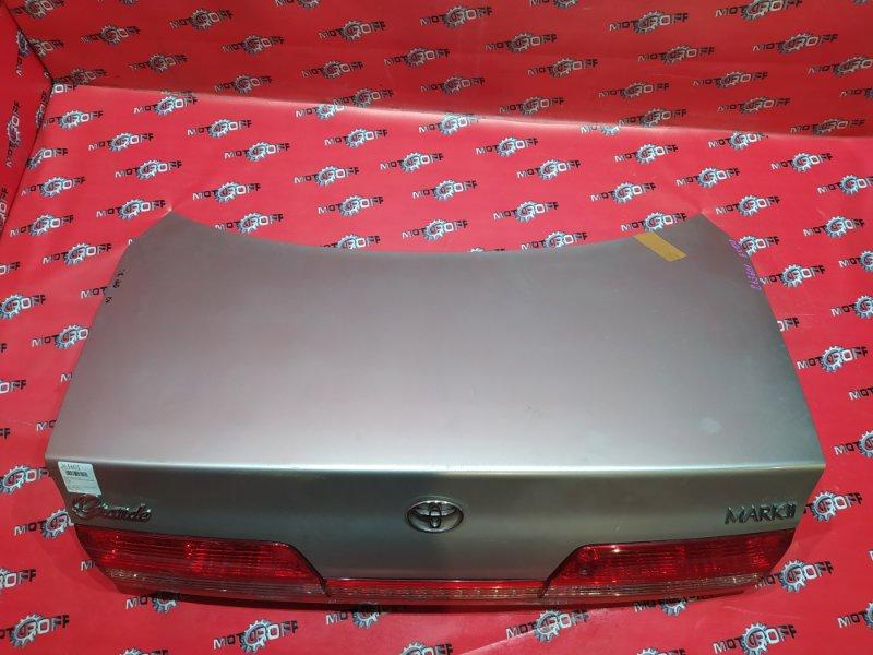 Крышка багажника Toyota Mark Ii GX100 1G-FE 1998 задняя (б/у)