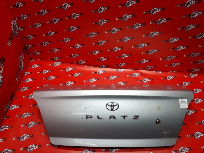 Крышка багажника Toyota Platz NCP12 1NZ-FE 1999 задняя (б/у)