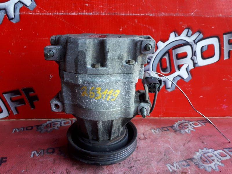 Компрессор кондиционера Toyota Probox NCP51V 1NZ-FE 2002 (б/у)