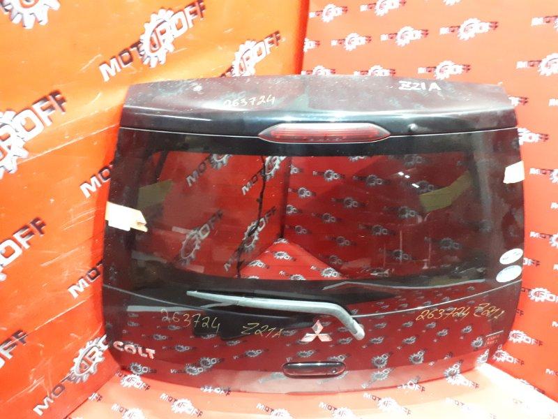 Дверь задняя багажника Mitsubishi Colt Z21A 4A90 2002 задняя (б/у)