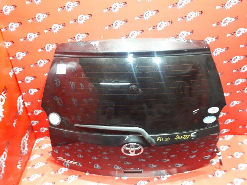 Дверь задняя багажника Toyota Passo KGC30 1KR-FE 2010 задняя (б/у)