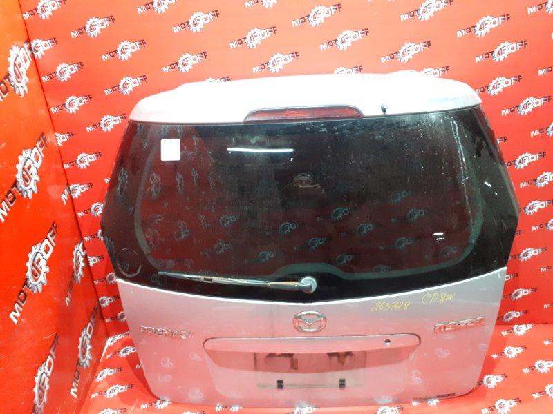 Дверь задняя багажника Mazda Premacy CP8W FP-DE 1999 задняя (б/у)