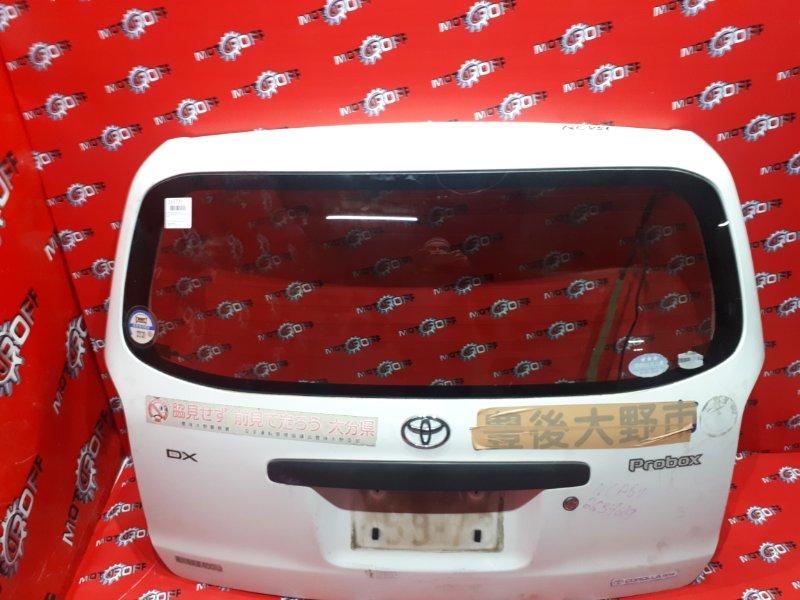 Дверь задняя багажника Toyota Probox NCP51V 1NZ-FE 2002 задняя (б/у)