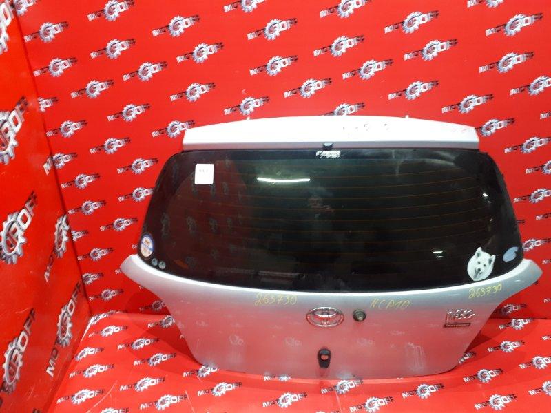 Дверь задняя багажника Toyota Vitz NCP10 2NZ-FE 1999 задняя (б/у)