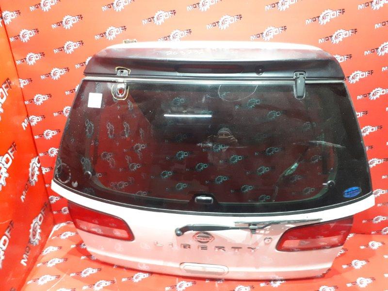 Дверь задняя багажника Nissan Liberty RM12 QR20DE 1998 задняя (б/у)