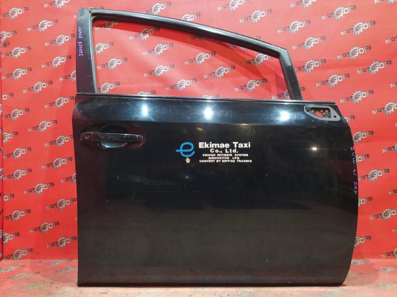 Дверь боковая Toyota Prius ZVW41W 2ZR-FXE 2011 передняя правая (б/у)