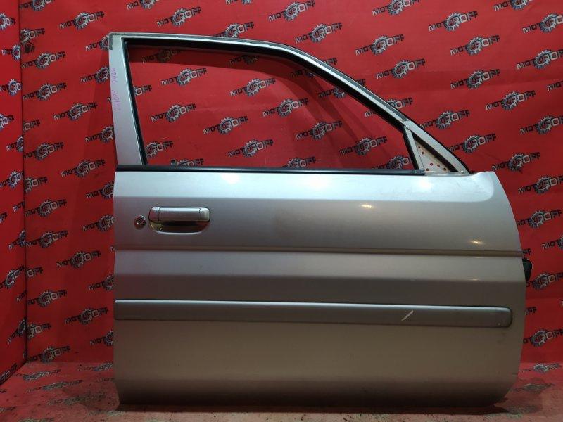 Дверь боковая Mazda Demio DW3W B3 1996 передняя правая (б/у)