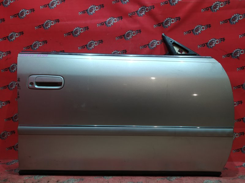 Дверь боковая Toyota Mark Ii GX100 1G-FE 1996 передняя правая (б/у)