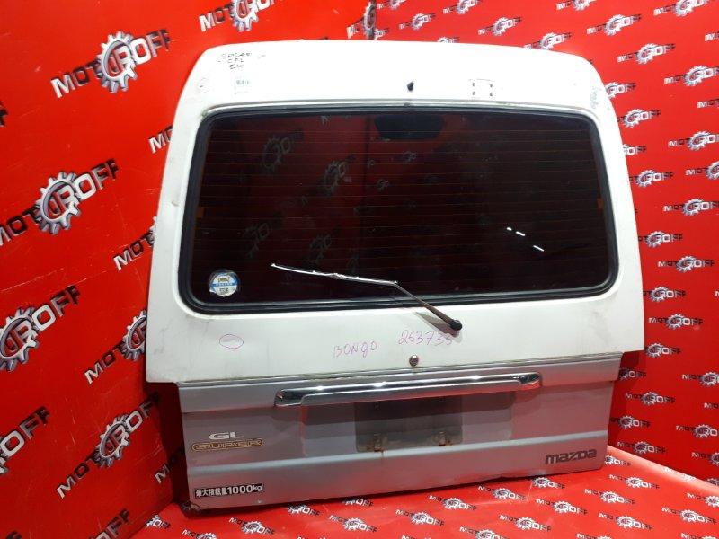 Дверь задняя багажника Mazda Bongo Brawny SRSAV VS 1990 задняя (б/у)