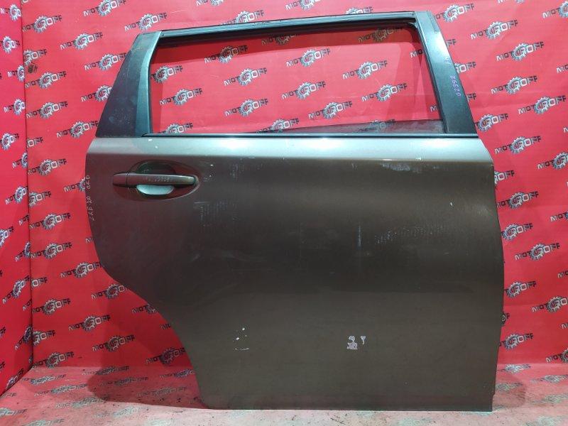 Дверь боковая Toyota Wish ZGE20W 2ZR-FAE 2009 задняя правая (б/у)