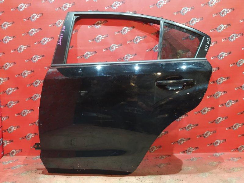 Дверь боковая Subaru Impreza GJ6 FB20 2011 задняя левая (б/у)