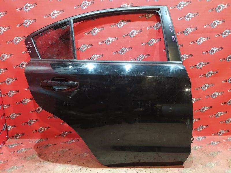 Дверь боковая Subaru Impreza GJ6 FB20 2011 задняя правая (б/у)