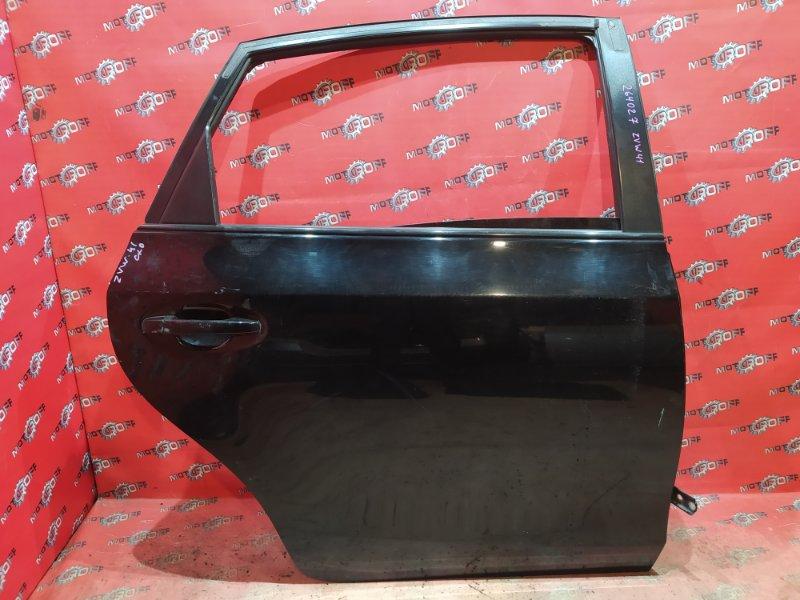 Дверь боковая Toyota Prius ZVW41W 2ZR-FXE 2011 задняя правая (б/у)