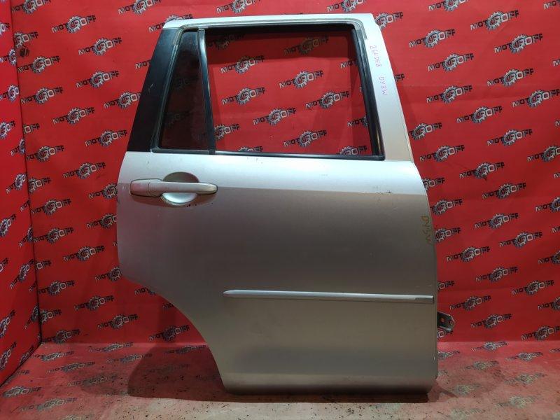 Дверь боковая Mazda Demio DY3W ZJ-VE 2002 задняя правая (б/у)