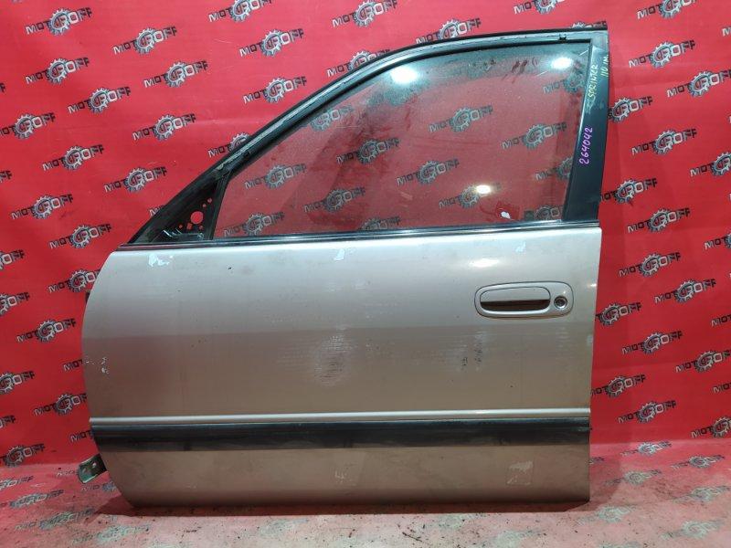 Дверь боковая Toyota Sprinter AE110 5A-FE 1995 передняя левая (б/у)