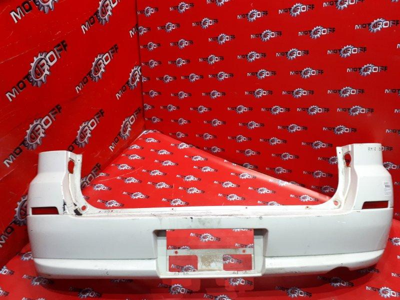 Бампер Nissan Liberty RM12 QR20DE 2001 задний (б/у)