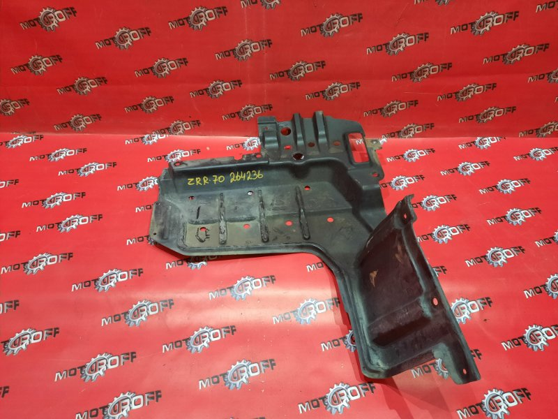 Защита двс Toyota Voxy ZRR70G 3ZR-FE 2007 правая (б/у)