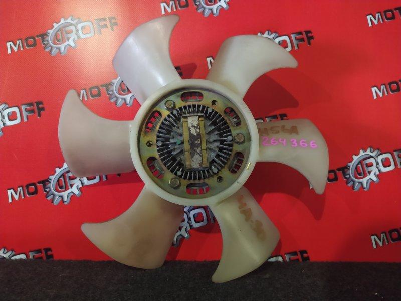Вискомуфта вентилятора радиатора Mitsubishi Pajero Mini H56A 4A30-T 1994 (б/у)