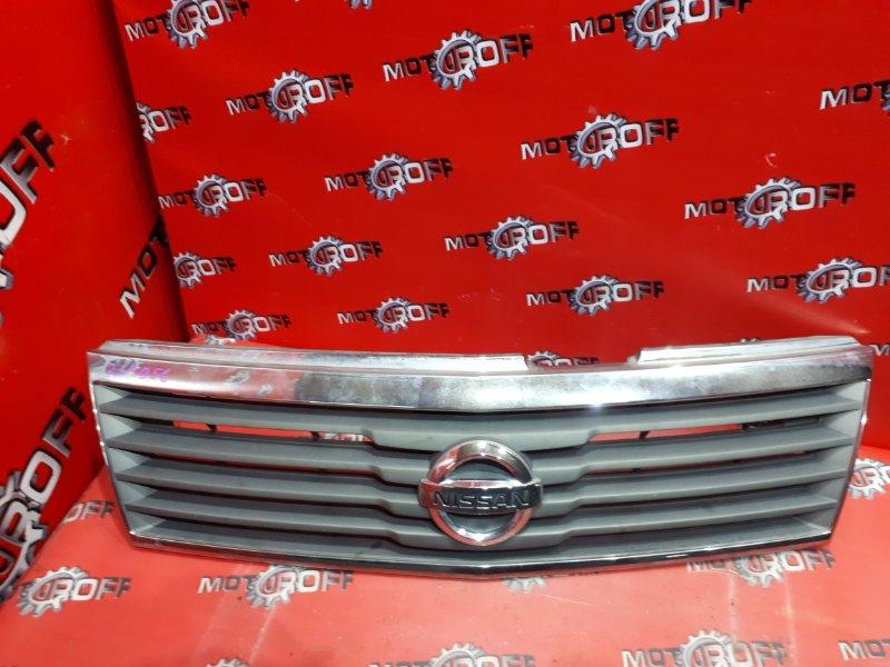 Решетка радиатора Nissan Liberty RM12 QR20DE 2001 (б/у)