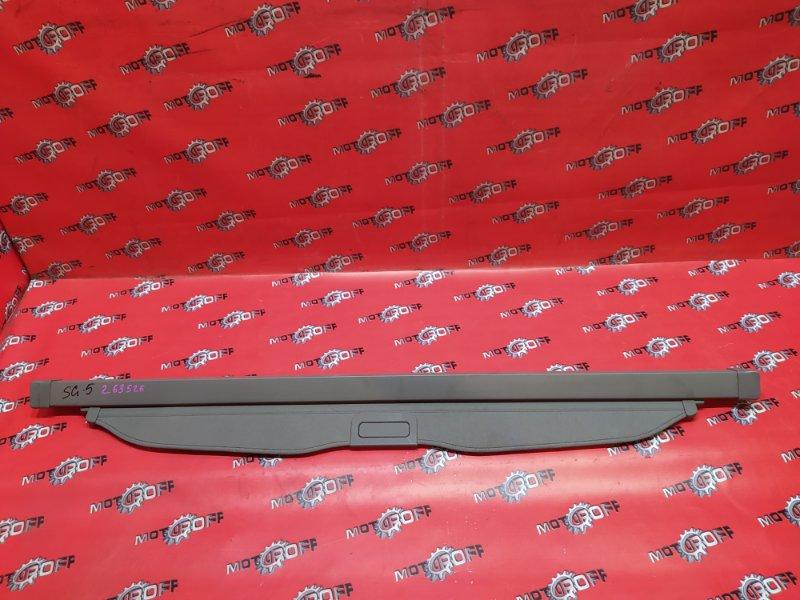 Полка (шторка багажника) Subaru Forester SG5 EJ20 2002 (б/у)