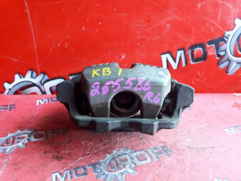 Суппорт Honda Legend KB1 J35A 2004 задний левый (б/у)