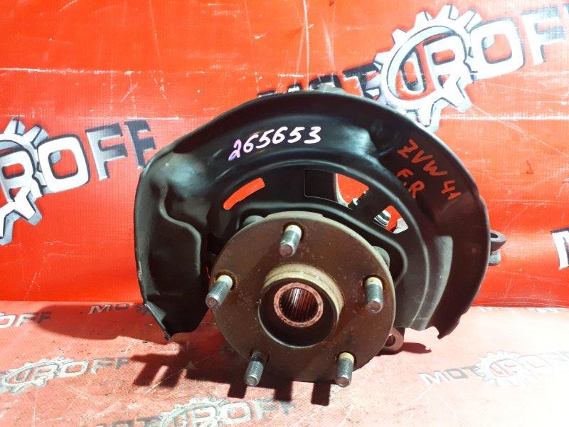 Ступица Toyota Prius ZVW41W 2ZR-FXE 2011 передняя правая (б/у)