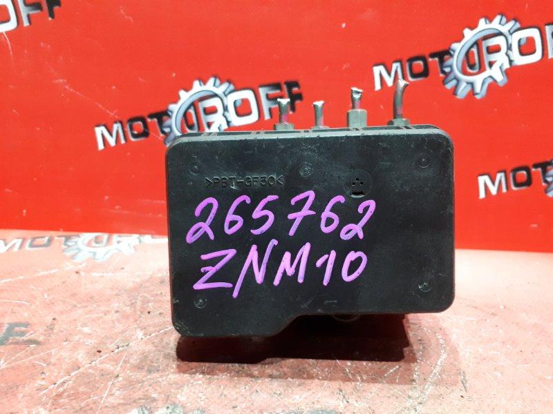 Блок abs (модулятор abs) Toyota Isis ZNM10G 1ZZ-FE 2004 (б/у)