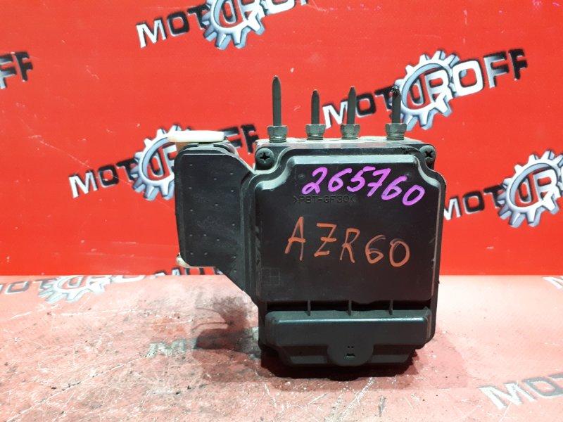 Блок abs (модулятор abs) Toyota Noah AZR60G 1AZ-FSE 2001 (б/у)