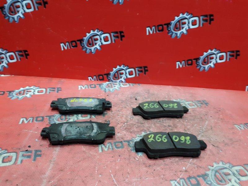 Колодки тормозные Toyota Probox NCP51V 1NZ-FE 2002 передние (б/у)