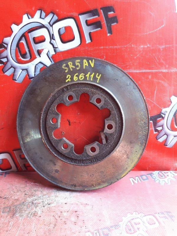 Диск тормозной Mazda Bongo Brawny SR5AV WL 1997 передний (б/у)