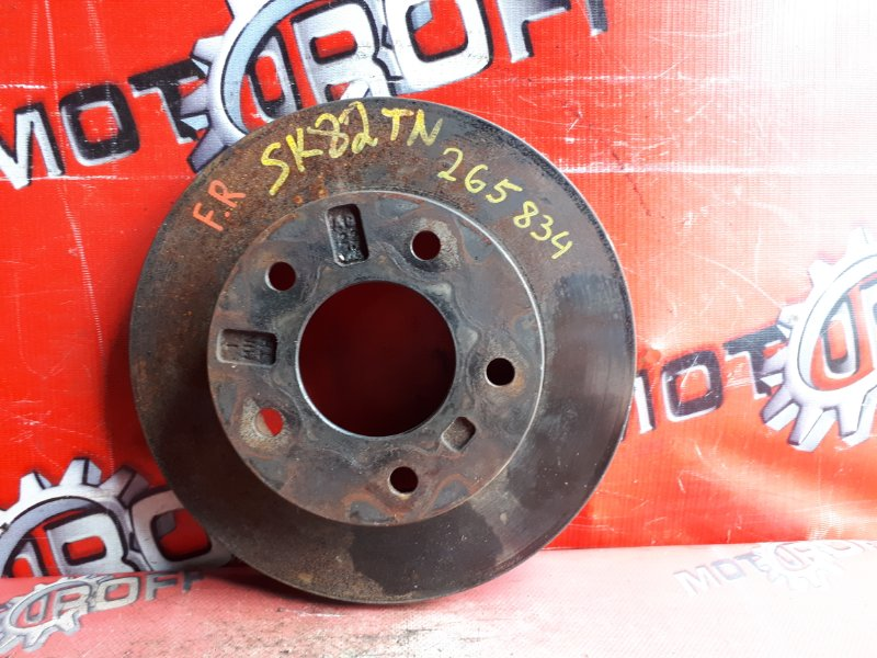 Диск тормозной Mazda Bongo SK82TN F8 1999 передний (б/у)