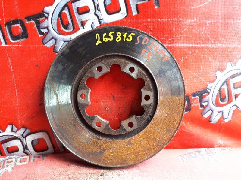 Диск тормозной Mazda Bongo SS28V R2 1990 передний (б/у)