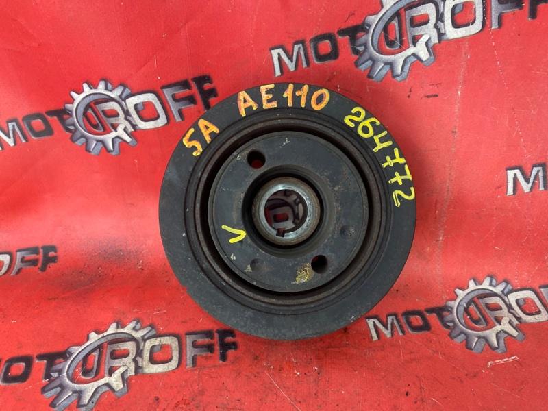 Шкив коленвала Toyota Corolla AE110 5A-FE 1995 (б/у)