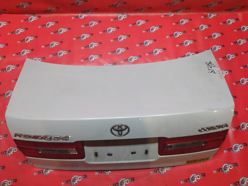 Крышка багажника Toyota Corona Premio ST210 3S-FSE 1998 задняя (б/у)