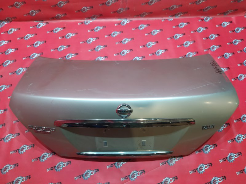 Крышка багажника Nissan Bluebird Sylphy TG10 QR20DD 2003 задняя (б/у)