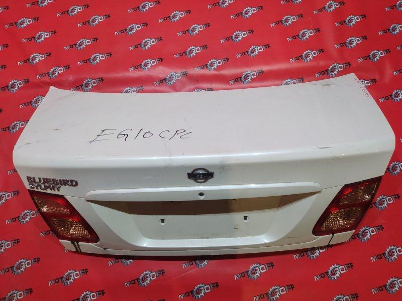 Крышка багажника Nissan Bluebird Sylphy TG10 QR20DD 2000 задняя (б/у)