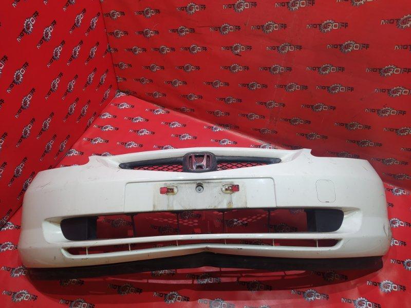 Бампер Honda Fit GD1 L13A 2001 передний (б/у)
