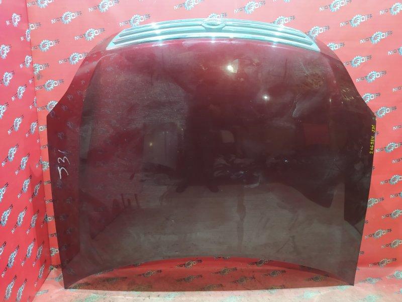 Капот Nissan Teana J31 VQ23DE 2003 (б/у)