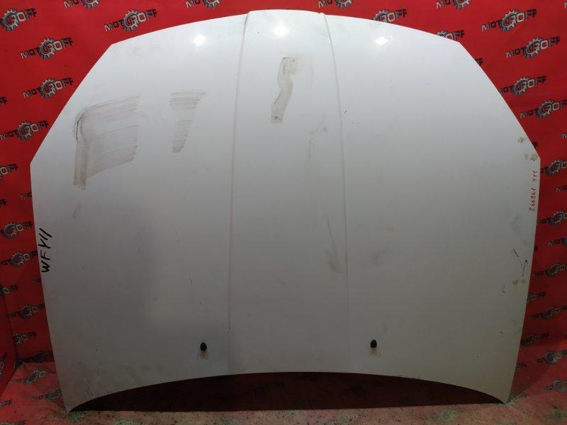 Капот Nissan Wingroad WFY11 QG15DE 2001 (б/у)