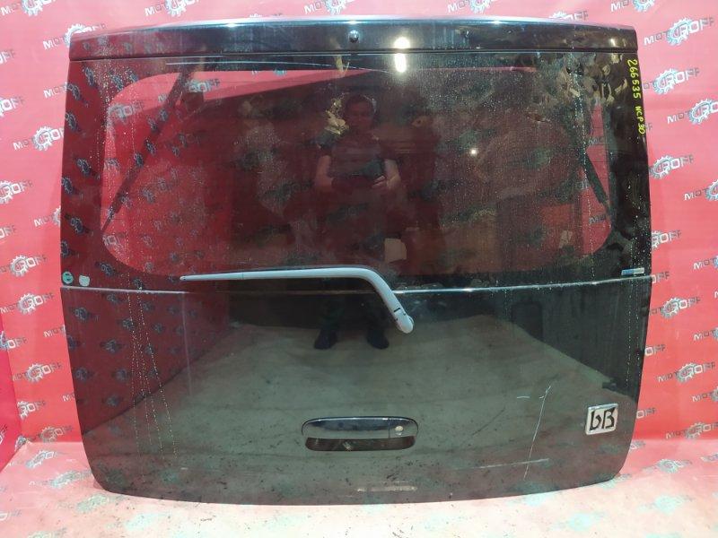 Дверь задняя багажника Toyota Bb NCP30 2NZ-FE 2000 задняя (б/у)
