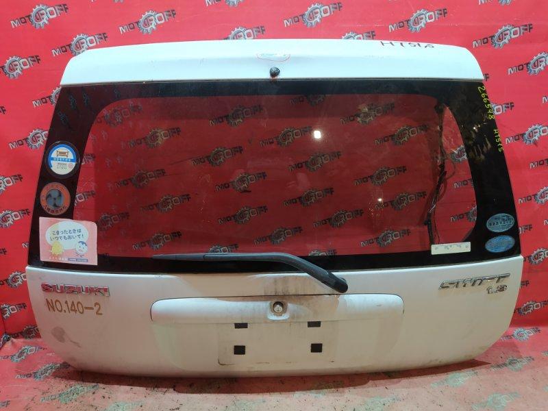 Дверь задняя багажника Suzuki Swift HT51S M13A 2000 задняя (б/у)