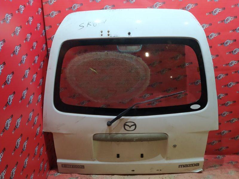 Дверь задняя багажника Mazda Bongo SK82V F8 1999 задняя (б/у)