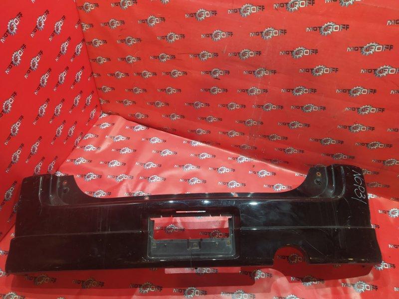 Бампер Toyota Bb NCP30 2NZ-FE 2000 задний (б/у)
