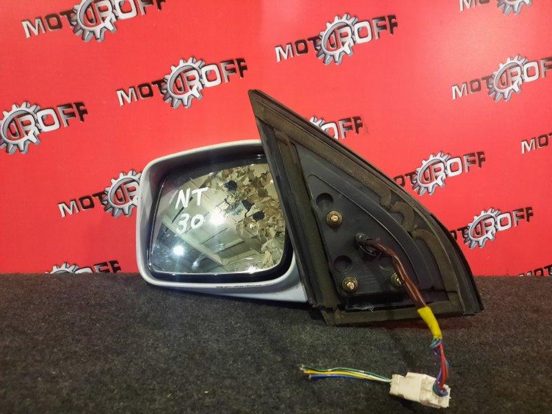 Зеркало боковое Nissan X-Trail NT30 QR20DE `2000 левое (б/у)