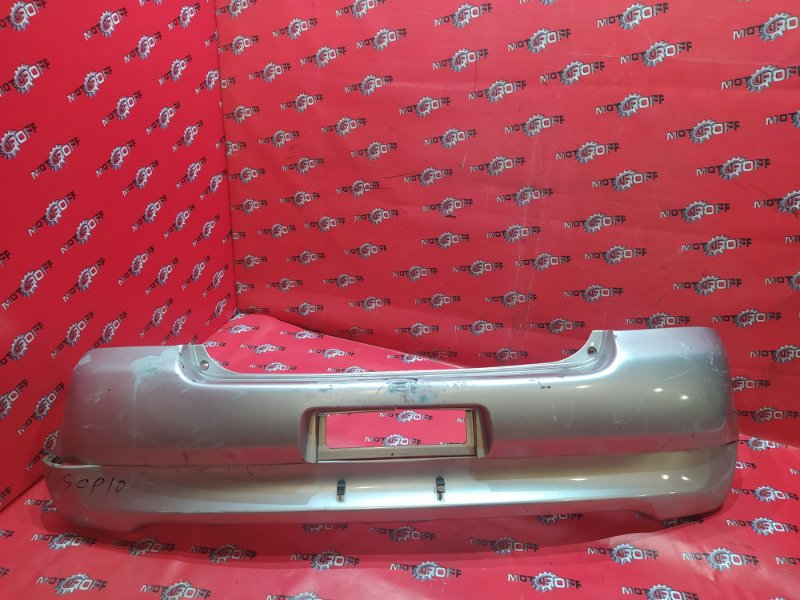 Бампер Toyota Vitz SCP10 1SZ-FE 1999 задний (б/у)
