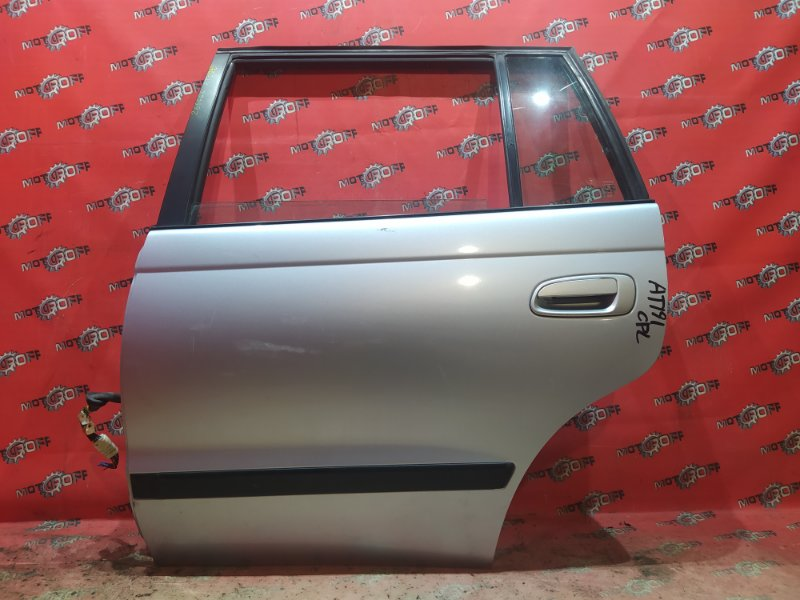 Дверь боковая Toyota Caldina AT191G 7A-FE 1992 задняя левая (б/у)