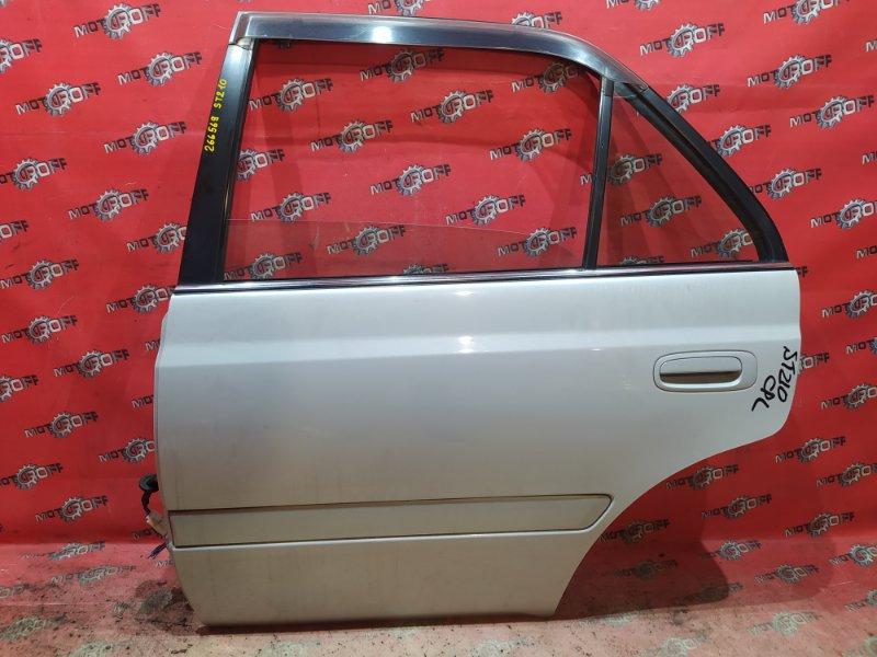 Дверь боковая Toyota Corona Premio ST210 3S-FSE 1996 задняя левая (б/у)