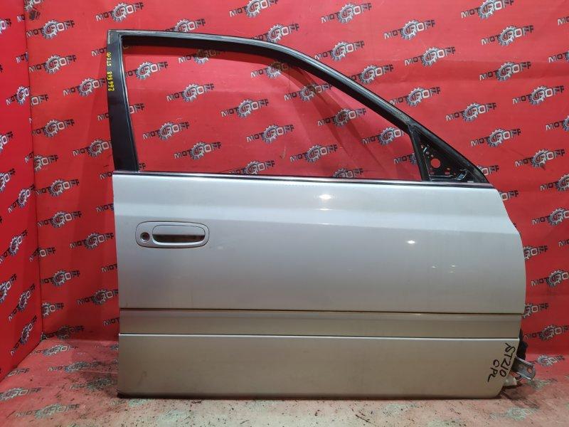 Дверь боковая Toyota Corona Premio ST210 3S-FSE 1996 передняя правая (б/у)