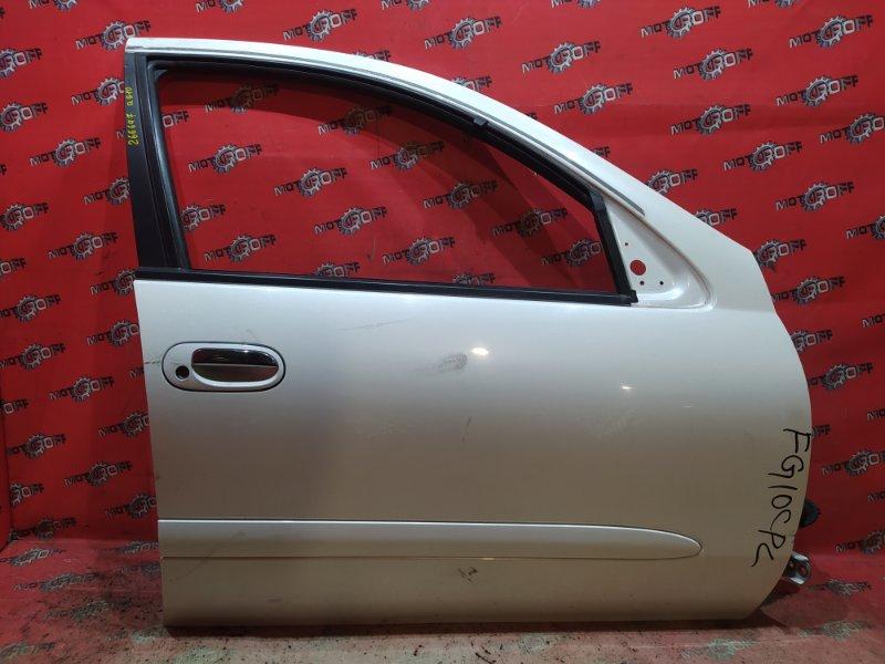 Дверь боковая Nissan Bluebird Sylphy TG10 QR20DD 2000 передняя правая (б/у)