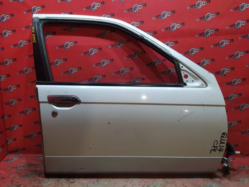 Дверь боковая Nissan Bluebird QU14 QG18DE 1996 передняя правая (б/у)